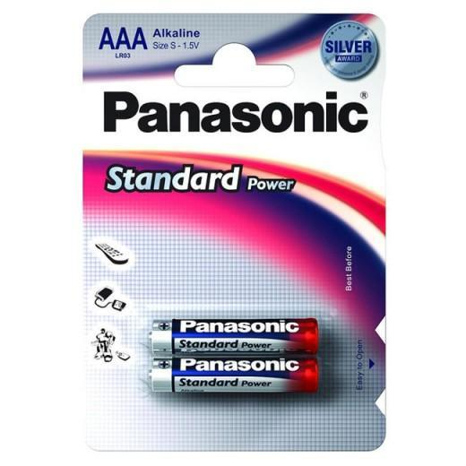Батарейка щелочная PANASONIC LR03 (AAA) Everyday Power (Standard) 1.5В бл/2